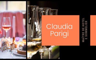 Incontri con la Maître d'Hotel e Sommelier Claudia Parigi