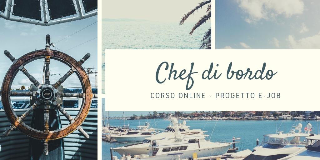 Chef di bordo – Corso online