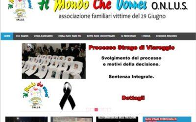 """""""Il mondo che vorrei"""" – Incontro in relazione al disastro ferroviario di Viareggio del 29 giugno"""